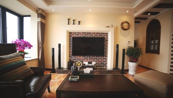 田园风格-113.76平米三居室-装修样板间
