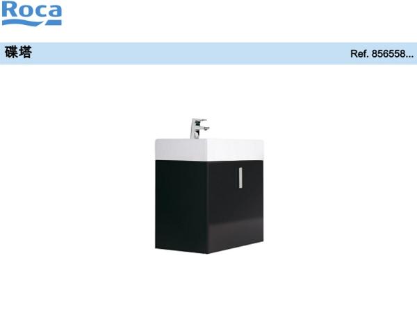 Roca乐家碟塔家具柜,单门式(白色) 碟塔浴室柜