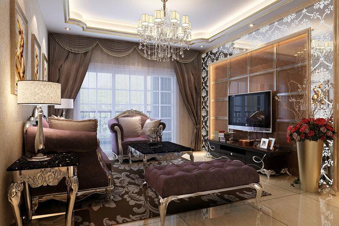 欧式风格-185平米四居室-装修样板间