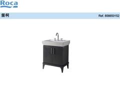 Roca乐家笛柯家具柜,双门式(白色) 乐家浴室柜