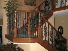 百姓园L型玻璃钢楼梯