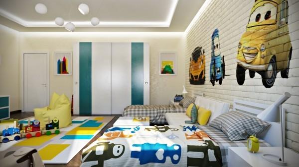 五套魔幻色彩儿童房  打造属于孩子的成长乐园