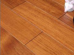 安信地板 缅甸柚木 全实木地板 大气长宽板 皇室专用
