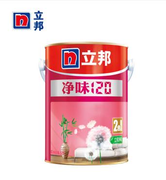 立邦净味120二合一5L立邦漆乳胶漆彩色内墙漆涂料白色立邦墙