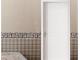 美心蒙迪木门 现代简约铣花实木复合烤漆门 7201 珍珠白