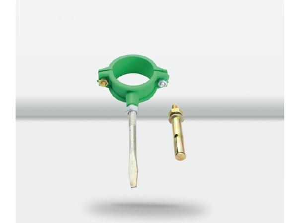 天力水管 PPR水管 绿色管件管卡 水管配件20 25