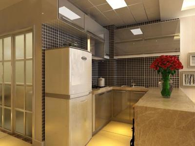 现代简约-45平米一居室装修样板间