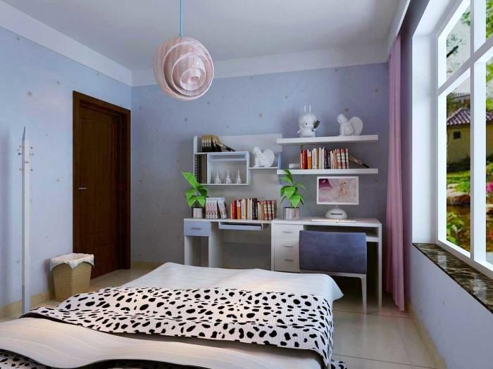 现代简约-133平米三居室-装修样板间