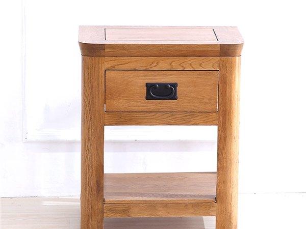 泽润木业-ZR124全实木仿古色灯桌