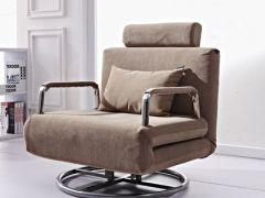 吾为 单人沙发床 折叠沙发床 特价沙发床 午休 旋转电脑椅