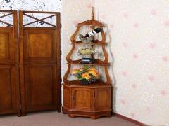 欧式田园现代简约实木角柜转角柜墙角柜 美式宜家家具三角柜