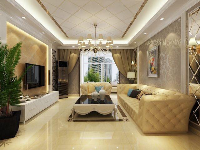 简欧风格-136.93平米三居室-装修样板间