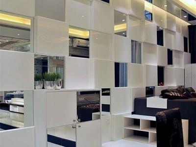 现代简约-118.23平米三居室装修样板间