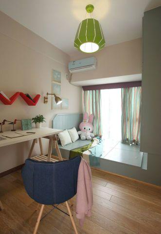小清新-139.74平米三居室-装修样板间