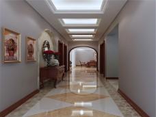 混搭风格-150平米三居室装修图片