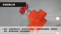 中财PP-R冷热水管标准件 全通径截止阀图片