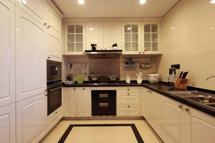 中式风格三居室厨房瓷砖装修图片-搜房网装修效果图图片