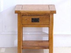 泽润木业-WX1035全实木仿古色灯桌