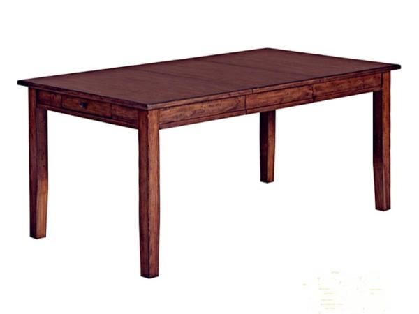 美驰左拉实木卡洛斯长餐桌