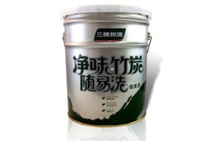 三棵树乳胶漆 三棵树漆SHI210 净味竹炭随易洗墙面漆 2