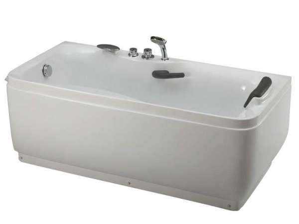 惠达全铜龙头5件套1.7米 独立式 亚克力浴缸HD-102