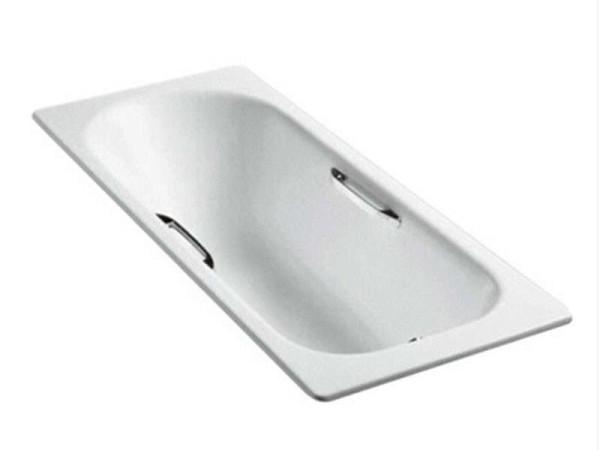 科勒索尚K-940T铸铁浴缸1.7米(无扶手安装孔)