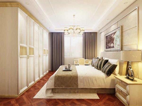 史丹利格拉斯系列白橡胡桃木个性定制卧房套餐