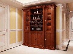 史丹利菲蒂洛系列苹果木酒柜