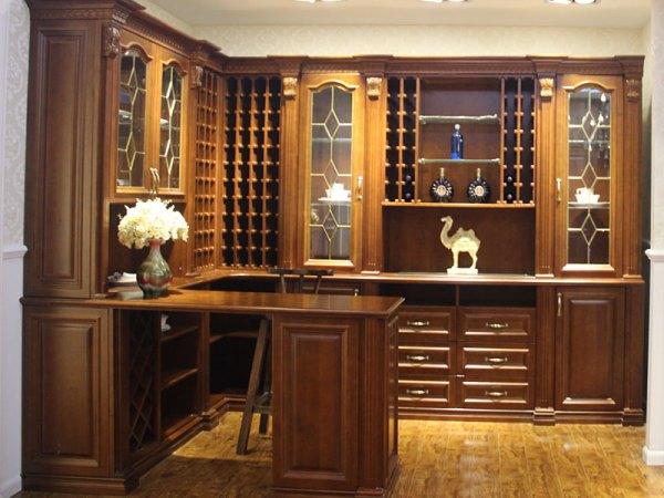 史丹利西雅图系列白蜡木酒柜