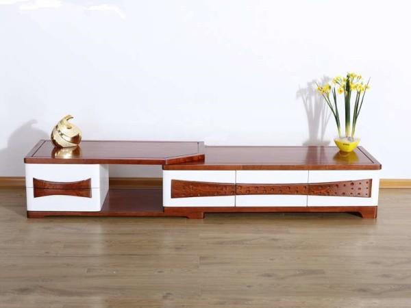 光明家具小户型客厅储物电视柜组合收纳柜72702 白色