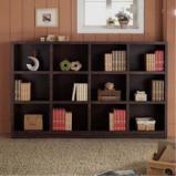 现代简约 格子书柜图片
