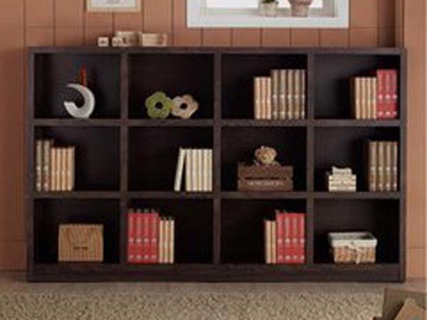 现代简约 格子书柜