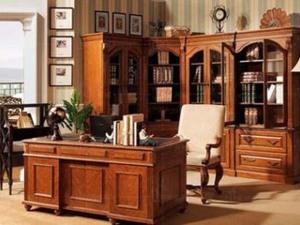 雅致奢华实木书柜