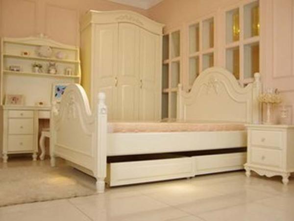 欧式地中海宜家儿童床