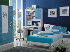 360°环式立柱设计1.2米排骨架儿童床