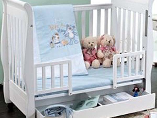 欧式环保婴儿床