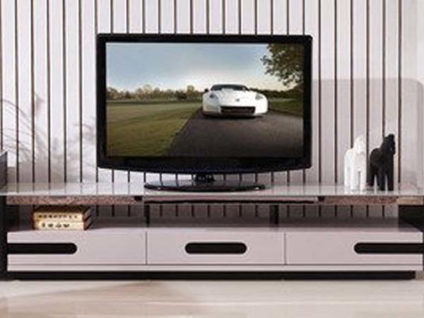 现代风格 钢化玻璃台面 电视柜