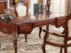 美式古典 精致书桌
