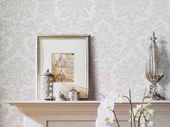 现代简约素色 无纺布 纱线墙纸