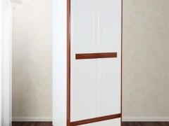 光明家具 全实木衣柜卧室储物收纳柜72101 2101白