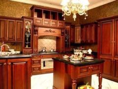 美式古典 精美立体衣柜