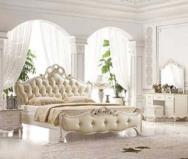 经典欧式 奢华唯美大床图片