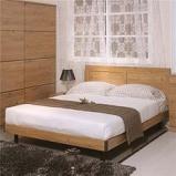 卧室三件套床 床垫 床头柜图片