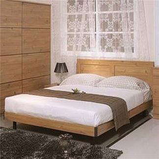 卧室三件套床 床垫 床头柜