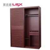 上海莱克斯整体衣柜衣帽间移门定制 环保板材 工厂直营定制图片