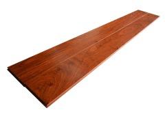 红桧底亚花梨双层实木地板