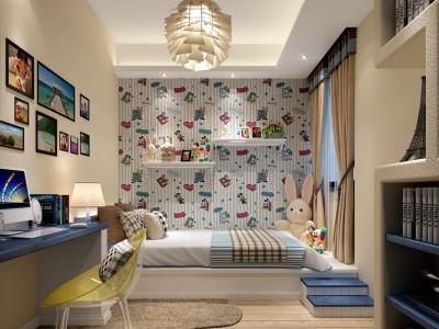 中式风格-139平米三居室装修样板间