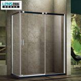 朗斯淋浴房达维E31定制淋浴房整体L型方形钢化玻璃防爆膜图片