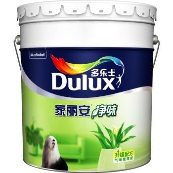 家丽安净味 内墙乳胶漆 油漆涂料 墙面漆白色