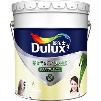 多乐士(dulux)A611 第二代五合一无添加 内墙乳胶漆